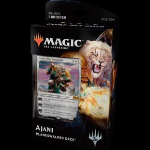 Magic The Gathering: Core 19 Planeswalker deck (Ajani) - /EV/