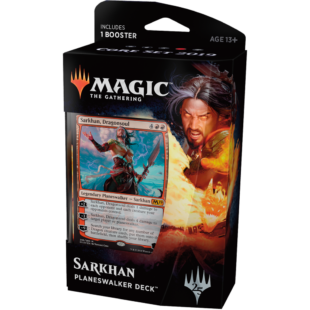 Magic The Gathering: Core 19 Planeswalker deck (Sarkhan) - /EV/