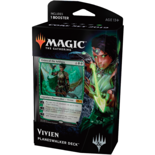 Magic The Gathering: Core 19 Planeswalker deck (Vivien) - /EV/