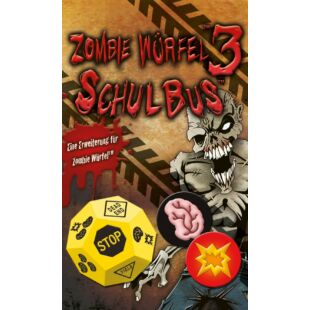 Zombie Würfel Schul Bus kiegészítő