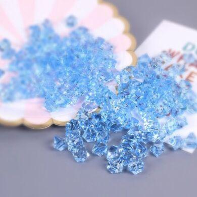Acryl kristály-világos kék