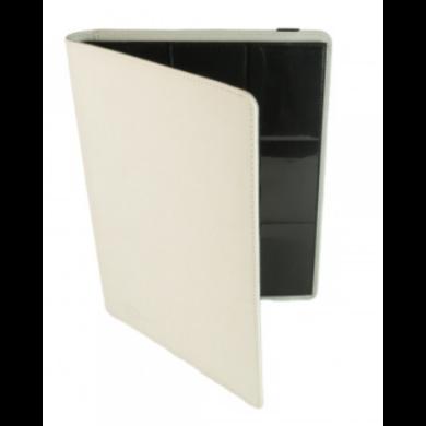 Card binder - kártya tartó mappa prémium, fehér (9 kártyás) - /EV/