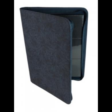 Card binder - kártya tartó mappa prémium cipzáras, kék (9 kártyás) - /EV/