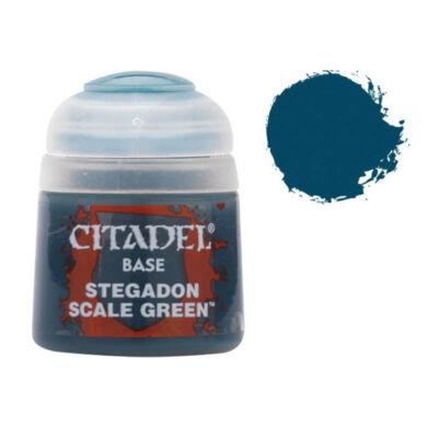 Citadel festék: Base - Stegadon Scale Green