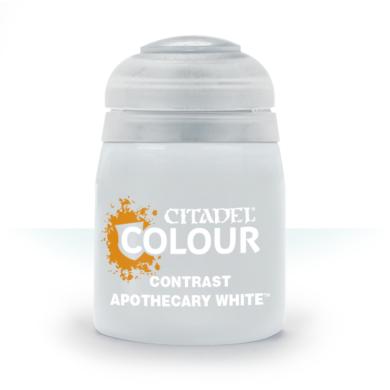 Citadel festék: Contrast - Apothecary White
