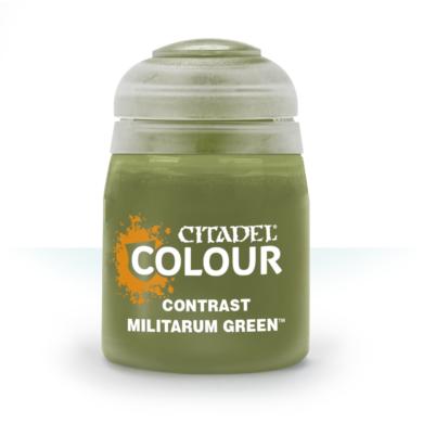 Citadel festék: Contrast - Militarum Green