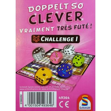 Doppelt so clever - Challenge block - pontozófüzet