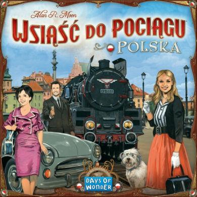 Ticket to Ride - Lengyelország kollekció kiegészítő (eng)