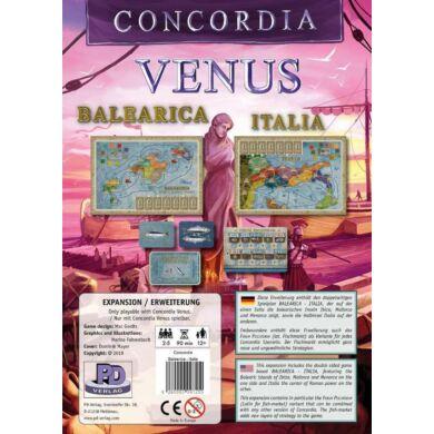 Concordia: Venus - Balearica & Italia (eng)