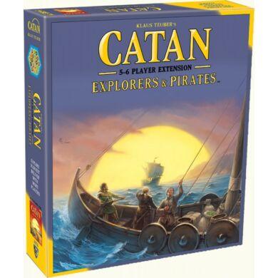 Catan Explorers and pirates 5-6 fős kiegészítő, angol nyelven