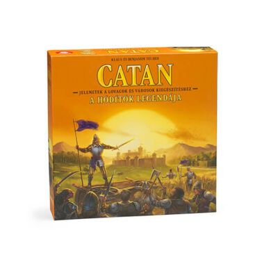 Catan telepesei- A hódítók legendája