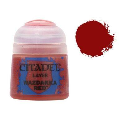 Citadel festék: Layer - Wazdakka red