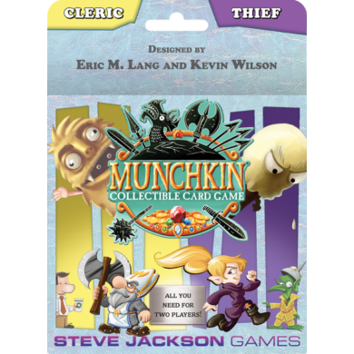 Cleric and Thief Starter Set: Munchkin CCG (eng)