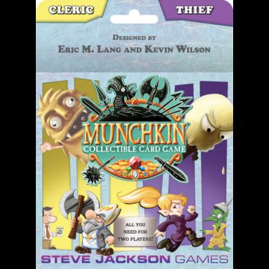 Cleric and Thief Starter Set: Munchkin CCG (eng) - /EV/