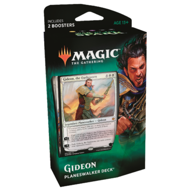 Magic The Gathering: War of the Spark- Planeswalker Deck (Gideon)