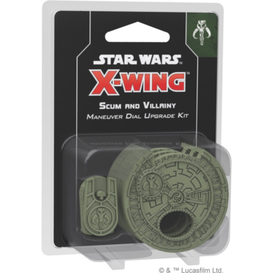Star Wars X-Wing: Scum and Villainy Maneuver Dial Upgrade Kit