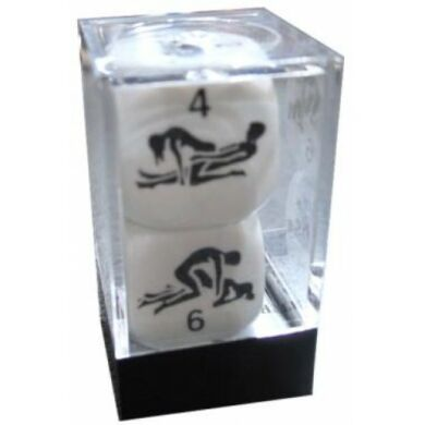 Kama szutra dobókocka (2 darab)