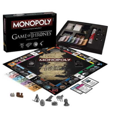 Trónok harca Monopoly (gyűjtői kiadás)