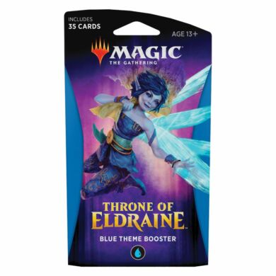 Magic the Gathering Throne of Eldrain theme booster (kék) - EV