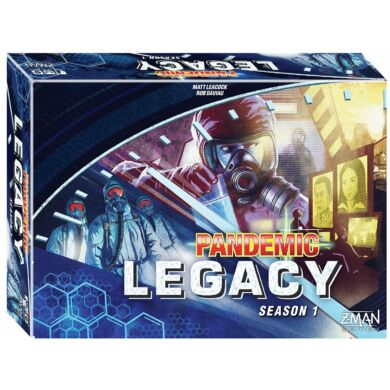 Pandemic Legacy season 1 kék