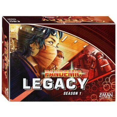 Pandemic Legacy season 1 piros