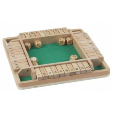 Shut the box Double - négy főre