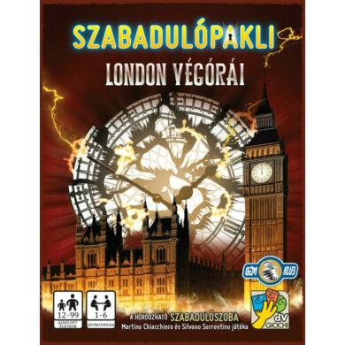 Szabadulópakli: London végórái