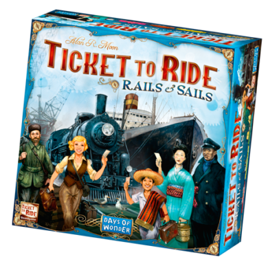 Ticket to Ride- Rails and Sails (eng)