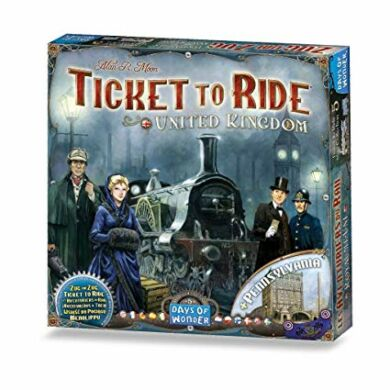 Ticket to Ride Map Collection : United Kingdom - Pennsylvania