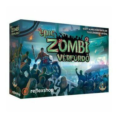 Tiny Epic: Zombi vérfürdő társasjáték