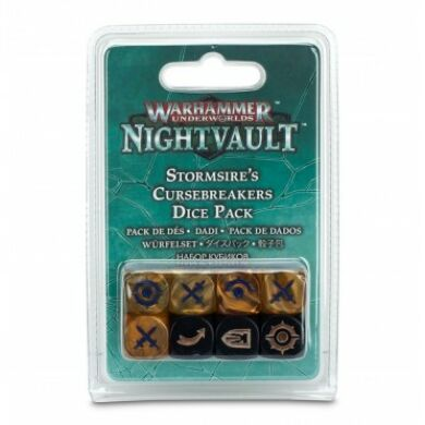 Warhammer Underworld Stormsire's Cursebreakers dice pack
