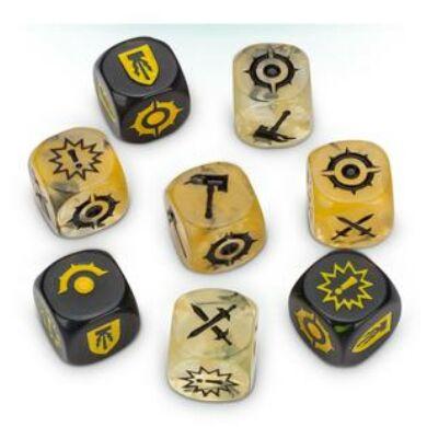 Warhammer Nightvault Zarbag's Gitz dice pack