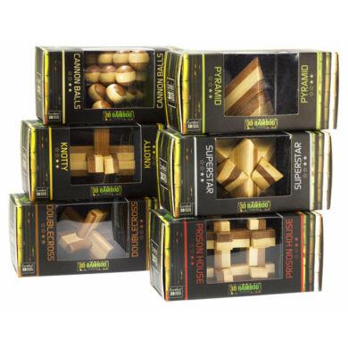 3D Bambusz puzzle - Prison House