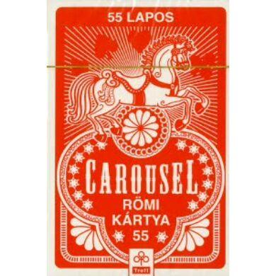 Caroussel franciakártya 1x55 lap