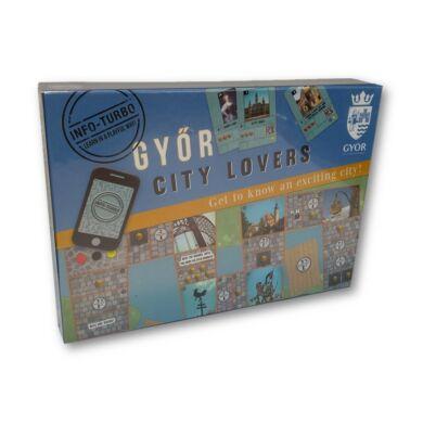 Győr - Városszeretők társasjáték - Get to know Gyor (angol)