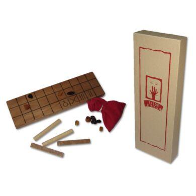 Fa táblás logikai játék - Senet