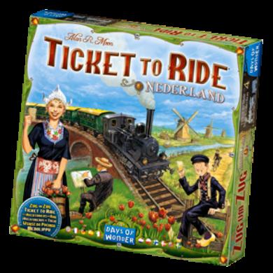 Ticket to Ride - Hollandia