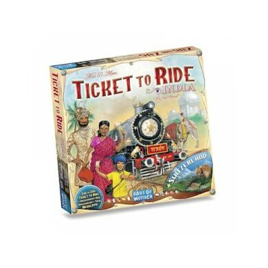Ticket to Ride - India and Switzerland