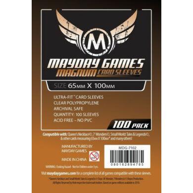 Kártyavédő tok (100 db) - 65 mm x 100 mm - Mayday Games
