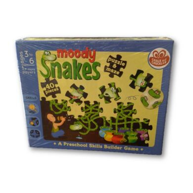 Chalk and Chuckles - Moody Snakes