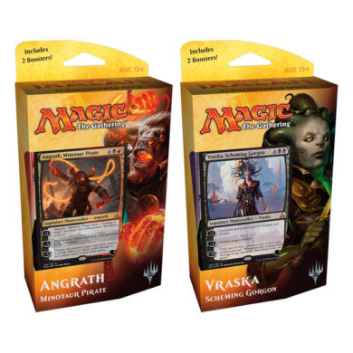 Magic The Gathering: Rivals of Ixalan Plainswalker deck (Angrath)