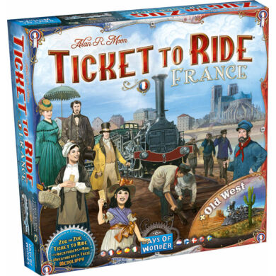 Ticket to Ride - France + Old West (eng)