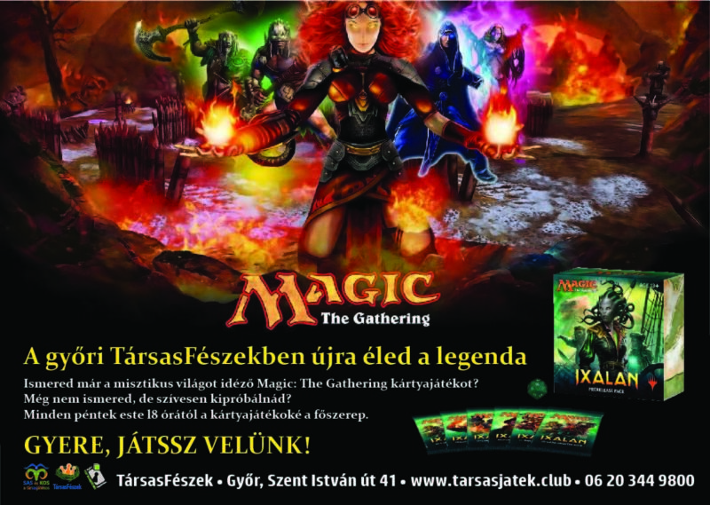 Magic: The Gathering FNM Győr TársasFészek