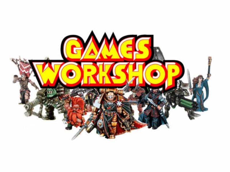 Games Workshop warhammer warhammer 40000